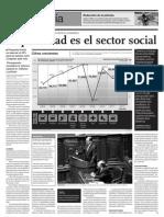 La Primera Prioridad Es El Sector Social