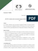 Resolución de la Comisión de Promoción y Defensa de la Competencia