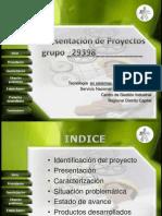 Presentacion de Preyectos SENA