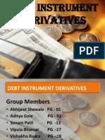 Debt Instruments Derivatives
