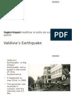 Valdivia's Earthquake