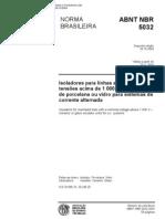 NBR 05032 - 2004 - Iso Lad Ores Para Linhas Aereas Acima de 1kv - Iso Lad Ores de Porcelana Ou Vidro Para Sistemas de Corrente Alternada