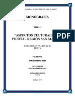 monografia de picota
