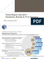 Trend Report July 2011