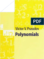 Victor v. Prasolov - Polynomials