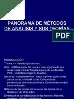 Panorama de métodos de Análisis y Sus Teorías