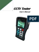 CCTV Tester User Manual