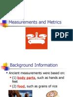 Measurements and Metrics 10-11