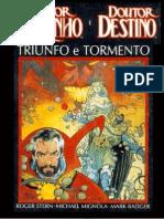 Dr.Estranho+&+Dr.Destino+Triunfo+e+Tormento