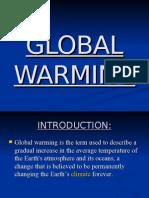 Slides of Global Warming.