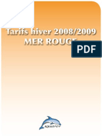 Tarifs Hiver 2008 2009-zone-mer rouge