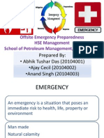College Offsite Emergency for PDPU