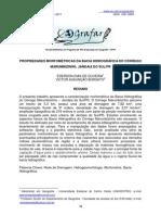 PROPRIEDADES MORFOMÉTRICAS DA BACIA HIDROGRÁFICA DO CÓRREGO MARUMBIZINHO