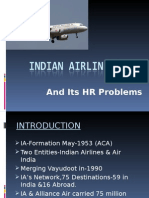Indian Airlines & its human resource problems