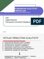 Meteri Prof Engkus Fenomenologi