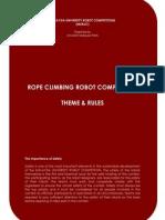 Rope Climbing Robot