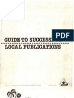 GuideToSuccessfulLocalPublications(ChapterNewsletter)