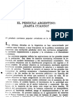 Diamand, el péndulo argentino