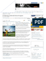 IIT-Bombay Preferred Choice of Toppers - The Times of India