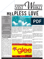 WHM Weekly Newsletter - 7 August 2011