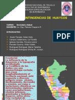 Plan de Contingencias de Huaycos