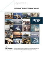 A Review of Structural Health Monitoring Literature 1996-2001