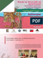 Intercambio de Artistas Indigenas -Informe