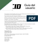 Manual en Español del Acid Pro