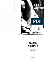 War in Darfur and the Search for Peace. Darfur