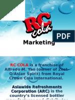 RC Cola Marketing Plan