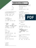 Algebra-pre San Marcos -2010-i