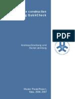 NBAP message construction using QuickCheck - Andreas Granberg and Daniel Jernberg LITH-IDA 2007-06-18