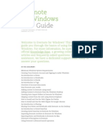 Evernote for Windows User Guide