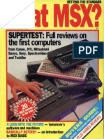 What MSX - Vol1 No 1 - Nov 1984