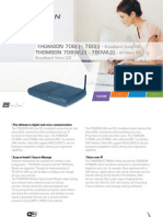 xDSLGA-VoIP Datasheet Thomson St706wl en 032008