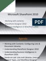 Share Point Designer Business Intelligence