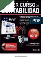 Primer Curso de Contabilidad - 22va Edición - Elías Lara Flores