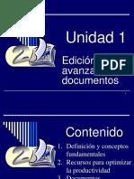 Fase 1. Edición avanzada de documentos (1)