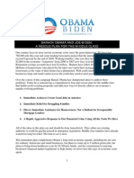 Barack Obama and Joe Biden's Rescue Plan for the Middle Class