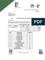 Cotización  09-008 Amaury Ochoa -Corporac