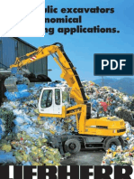 Hydraulic Excavators for Economical Recycling Applications. the Better Machine.