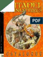 Citadel Miniatures Catalogue 1989 Part 2