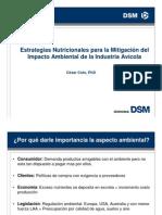 Estrategias Nutricionales Para La Mitigacion Del Impacto Ambiental en Industria Avicola-Cesar Coto