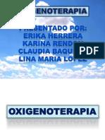OXIGENOTERAPIA LINA
