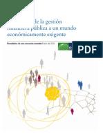 Respuestas de la gestión financiera pública a un mundo económicamente exigente