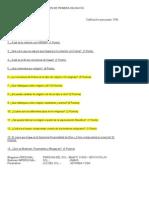 EXAMEN DE PRIMERA INICIACIÓN