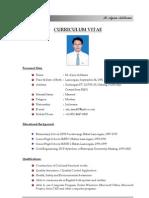 CV - M. Ayun Aditama