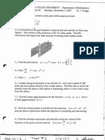 Ma 141 Sample Test 3