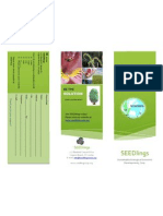 seedings brochure