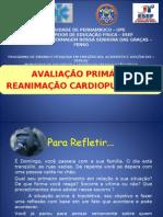 avaliação primária e RCP